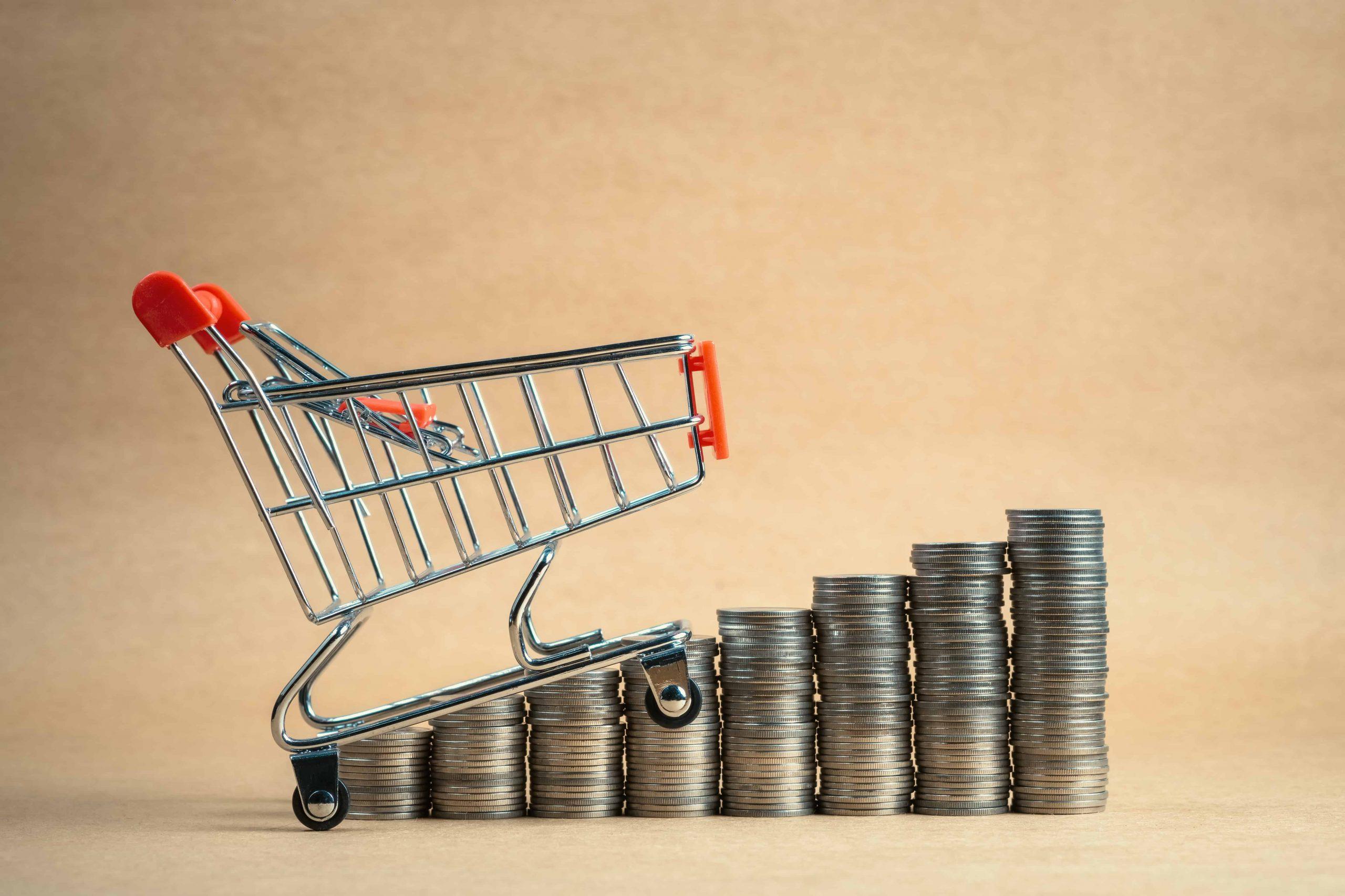 keskmine ostukorvi väärtus kuidas panna kliendid rohkem ostma